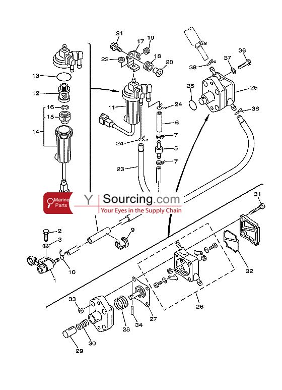 Yamaha 8hp Wiring Diagram