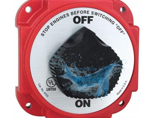 YS9703DP fit for HD Battery Disconnect Switch Alternator Field Disc #9703DP